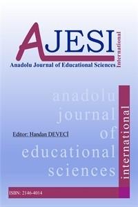 Anadolu Üniversitesi Eğitim Bilimleri Enstitüsü Dergisi